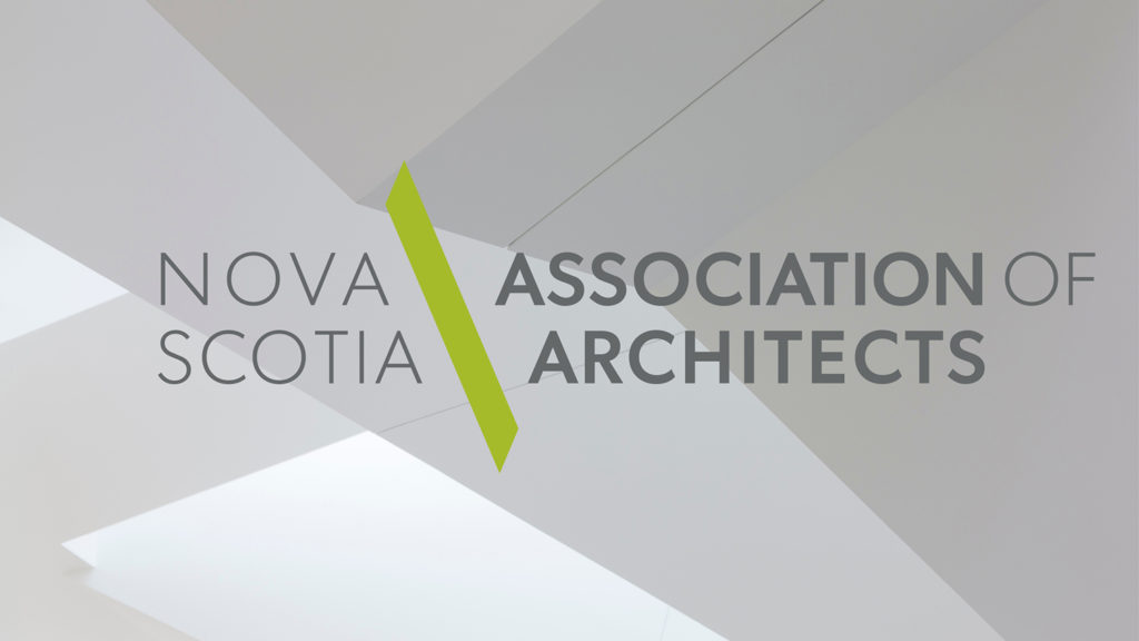 The Nova Scotia Association of Architects' (NSAA) new logotype